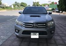 Bán ô tô Toyota Hilux năm 2016, màu bạc, nhập khẩu nguyên chiếc số sàn, giá 665tr
