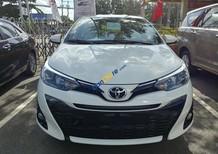 Bán ô tô Toyota Yaris 1.5 G sản xuất năm 2018, màu trắng, xe nhập