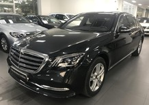 Cần bán xe Mercedes S450L 2018, màu đen chính hãng
