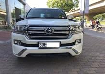 Bán Toyota Land Cruiser 4.5V8 năm sản xuất 2016, màu trắng, nhập khẩu như mới