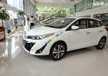 Cần bán Toyota Yaris 1.5G sản xuất năm 2018, màu trắng, nhập khẩu