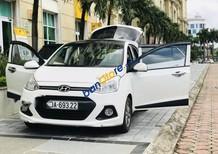 Bán Hyundai Grand i10 1.2AT năm 2015, màu trắng, nhập khẩu nguyên chiếc, giá tốt