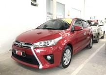 Bán xe Yaris 1.5G sản xuất 2017 màu đỏ nhập Thái