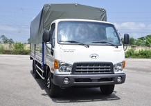 Bán xe tải Hyundai HD700 2017, màu trắng, satxi, thùng kín, thùng lửng, hỗ trợ vay trả góp 75%