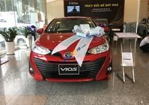 Cần bán Toyota Vios E CVT sản xuất 2018, màu đỏ, giá tốt