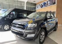 Bán Ford Ranger Wildtrak 2.0L Bi Turbo năm sản xuất 2018, màu xám, nhập khẩu