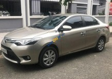 Cần bán xe Toyota Vios 1.5G sản xuất 2017, màu vàng như mới