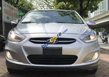 Cần bán Hyundai Accent 2014 màu bạc, số tự động