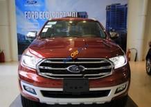 Cần bán Ford Everest Titanium 2.0L 4x4 AT sản xuất năm 2018, màu đỏ, xe nhập