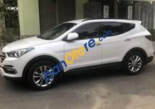 Bán Hyundai Santa Fe sản xuất 2017, màu trắng