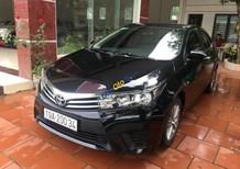 Cần bán lại xe Toyota Corolla altis 1.8G sản xuất năm 2015, màu đen chính chủ, 585tr