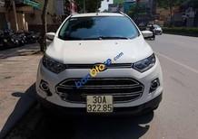 Cần bán lại xe Ford EcoSport 1.5Titanium sản xuất năm 2014, màu trắng, giá chỉ 510 triệu
