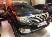 Cần bán Toyota Fortuner 4x4 AT sản xuất 2013, màu đen giá cạnh tranh