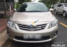 Cần bán gấp Toyota Corolla Altis 1.8G AT năm 2012, màu vàng, xe tên tư nhân chính chủ từ mới