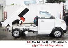 Bán xe tải Suzuki Carry Pro thùng kèo/mui/bạt 615kg/700kg/750kg + hỗ trợ trả góp 80%+ giao xe ngay