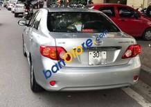 Cần bán xe Toyota Corolla altis 1.8G AT sản xuất năm 2009, màu bạc