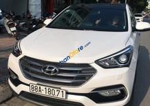 Bán Hyundai Santa Fe 2.2 CRDI 4wd sản xuất 2017, màu trắng