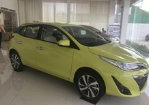 Cần bán xe Toyota Yaris G CVT 2018, màu vàng chanh, nhập khẩu nguyên chiếc, giao ngay, hỗ trợ trả góp