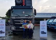 Liên hệ 096 96 44 128, cần bán xe Thaco Auman D300GTL xác nặng 2017, màu xám