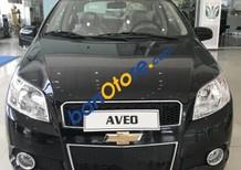 Bán xe Chevrolet Aveo sản xuất 2018, màu đen, 459tr