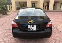 Cần bán lại xe Toyota Vios đời 2010, màu đen