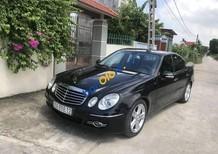 Cần bán xe Mercedes E200 năm 2008, màu đen