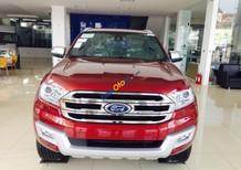 Bán xe Ford Everest Titanium 2WD 2.0 sản xuất năm 2018, màu đỏ, nhập khẩu