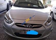 Bán Hyundai Accent sản xuất 2012, màu bạc