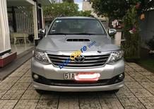 Bán ô tô Toyota Fortuner G năm 2013, màu bạc, 755 triệu