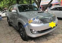 Xe Toyota Fortuner 2.5G sản xuất 2016, màu bạc số sàn