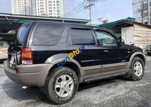 Cần bán lại xe Ford Escape XLT 3.0L năm sản xuất 2003, màu đen