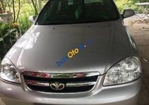 Bán ô tô Daewoo Lacetti sản xuất năm 2009, màu bạc, 268tr