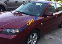 Bán Mazda 3 1.6 AT năm 2005, màu đỏ, giá chỉ 275 triệu