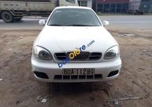 Cần bán Daewoo Lanos sản xuất 2005, màu trắng