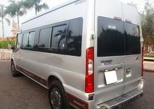 Bán Ford Transit đời 2014, số sàn, máy dầu, màu bạc