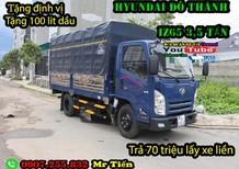 Xe tải Do Thanh IZ65 2018 I Xe tải IZ65 Đô Thành 3 tấn 5 I Xe tải IZ65 thùng 4,3 mét