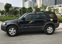 Bán xe Ford Escape XLT 3.0 năm 2004, màu đen chính chủ, giá 215tr