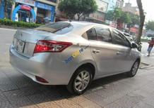 Bán xe Toyota Vios 1.5E năm 2015, màu bạc, giá chỉ 455 triệu