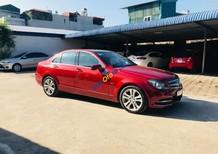 Cần bán gấp Mercedes C200 đời 2011, màu đỏ