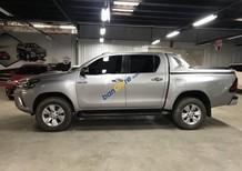 Cần bán lại xe Toyota Hilux 3.0G AT sản xuất năm 2015, màu bạc, giá 765tr