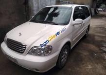 Bán xe Kia Carnival sản xuất 2005, màu trắng, 195 triệu