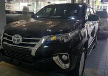 Cần bán Toyota Fortuner 2.8V 4x4 AT năm 2018, màu đen, xe nhập