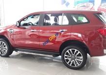 Bán ô tô Ford Everest Titanium 2.0 4x4 sản xuất năm 2018, màu đỏ, xe nhập
