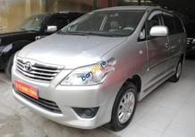 Bán Toyota Innova 2.0E năm sản xuất 2013, màu bạc