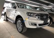 Cần bán Ford Everest 2.0L Turbo Titanium AT: năm sản xuất 2018, màu trắng, nhập khẩu