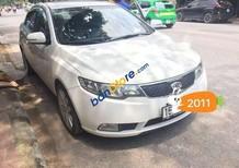 Cần bán lại xe Kia Cerato sản xuất năm 2011, màu trắng