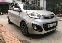 Cần bán lại xe Kia Morning 1.2MT sản xuất 2015, màu bạc số sàn, giá chỉ 275 triệu