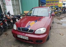 Bán Daewoo Lanos đời 2002, màu đỏ xe gia đình, giá chỉ 85 triệu