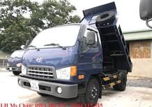 Bán xe ben Hyundai HD65 1,75 tấn+ siêu tiện dụng +giá cực tốt+trả góp 80%