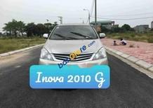 Bán xe Toyota Innova G năm 2010